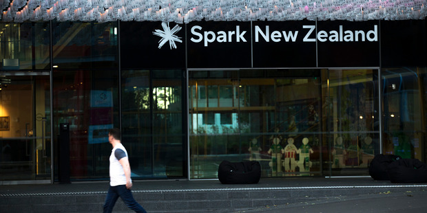 Spark customers must apply online to have the $33 credited to their phone or internet bill. Photo / Nick Reed