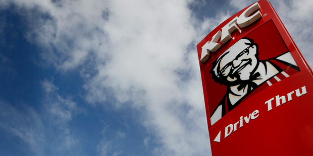 KFC contributed $282m of Restaurant Brands' $387m of annual sales. Photo / NZ Herald