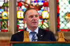 John Key has pulled back in his personal campaign to change the flag in a last-ditch bid to get left-wing voters back on board as the historic vote looms. Photo / Mark Mitchell