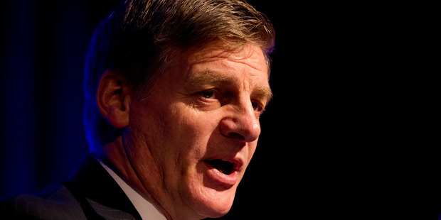 Finance Minister Bill English said monthly results fluctuate greatly. Photo / NZME