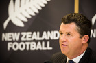 New Zealand Football chief executive Andy Martin has endured a torrid recent time. Photo / Greg Bowker