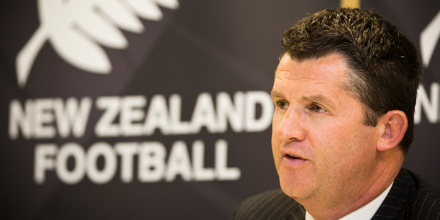 Loading New Zealand Football chief executive Andy Martin has endured a torrid recent time. Photo / Greg Bowker