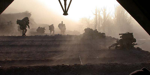 New Zealand Special Air Service soldiers on operations in Afghanistan. Photo / NZDF
