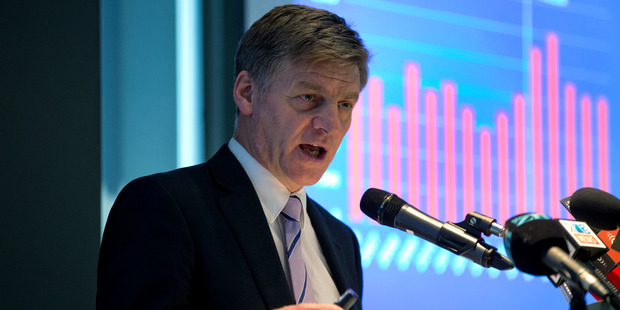 Bill English says unusual events like the slump in oil prices have affected the inflation picture. Photo / Mark Mitchell