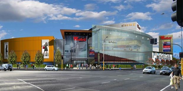 An artist's impression of the expanded Westfield St Lukes mall. Photo / Supplied