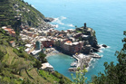 Vernazza, one of the five villages that make up Cinque Terre in Italy. Photo / Supplied