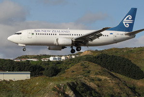 Air NZ shares closed up 7c yesterday at $2.93. Photo / Mark Mitchell