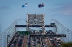 On paper the new flag looked better than the old. But on the harbour bridge it did not. Photo / Greg Bowker