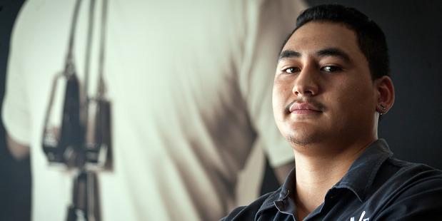 Juan at Carve Barber Shop. Photo/Andrew Warner.