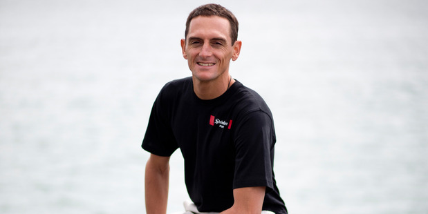Loading Got a spare four minutes - maybe a touch more to allow a precious margin. That's the time Kiwi freediver William Trubridge hopes to spend in a saltwater hole in the Bahamas. Photo / Dean Purcell