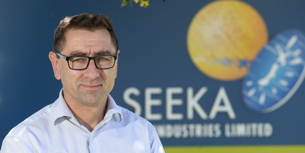 Micheal Franks CEO of Seeka. Photo/file