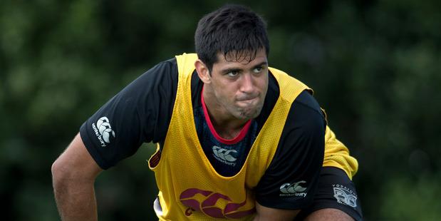 Former Junior Kiwi captain David Bhana owes new Warriors captain Ryan Hoffman a favour. Photo / Brett Phibbs
