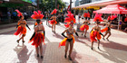 Laneway fest draws crowd
