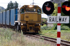 End of the line? Northland's sole surviving railway line will be mothballed north of Kauri. PHOTO / JOHN STONE