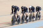The New Zealand women's pursuit team has finished fourth at the world track cycling championships in London. Photo / Guy Swarbrick.