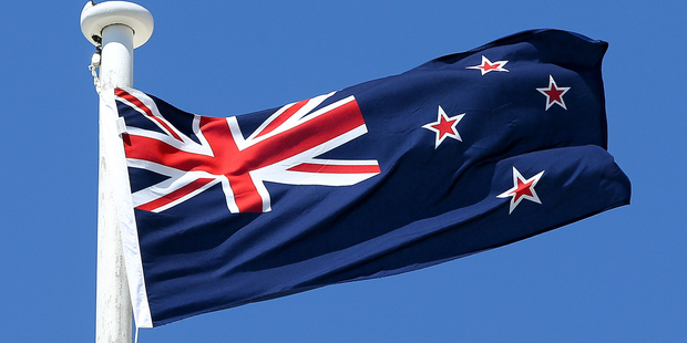 The NZ flag. Photo / Getty Images