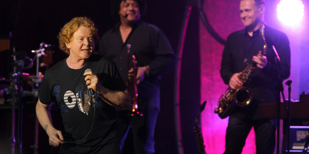 Simply Red and founding frontman Mick Hucknall were simply brilliant. PHOTO/Duncan Brown