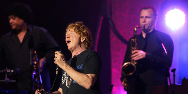 Simply Red had the crowd on their feet. Photo / Duncan Brown
