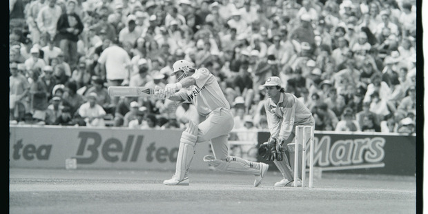 Cricket World Cup 1992 New Zealand v Pakistan, semi-final at Eden Park in Auckland.