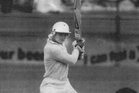Martin Crowe on the way to his historic 188, which pushed New Zealand's run total out to 553 for seven, at the time our  highest  in a test.