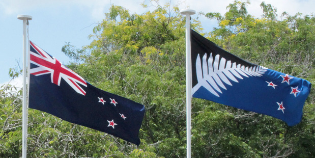 Voting papers for the flag referendum are being sent out tomorrow. Photo / Te Awamutu Courier