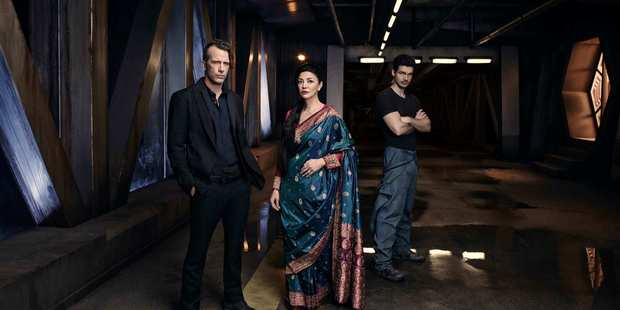 The Expanse imagines a future in which humans have colonised the solar system.