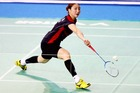 Korean women's singles star Jung Ji Hyun, world No 5, will be at the New Zealand badminton open. Photo / Getty
