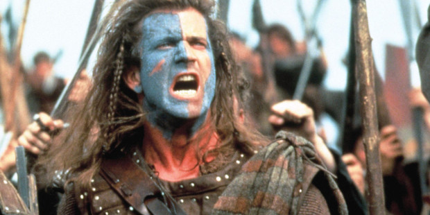 Braveheart won best picture but it hasn't aged well, according to critics. Photo / 20th Century Fox