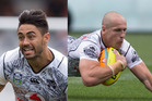 Shaun Johnson and Jeff Robson. Photos / Getty Images