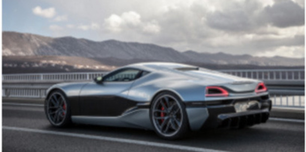 The Rimac Concept_One from Croatian automaker Rimac Automobili accelerates from zero to 60 mph in 2.6 seconds. Photo / Rimac Automobili.