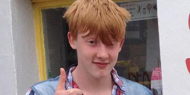 Bailey Gwynne, 16, died after being stabbed during a fight at school. Photo / Police Scotland