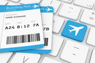 When a boarding pass sticks out, it can easily get dog-eared or damaged. Photo / iStock