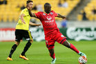 Bruce Djite was on the scoresheet for Adelaide. Photo / Getty
