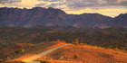 The Flinders Ranges unfold into the centre of Australia north of Kapunda. Photo / iStock