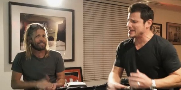 Nick Lachey was trialled as a possible replacement for Dave Grohl in the Foo Fighters video.