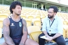 New Warriors recruit James Gavet has battled back from the depths of despair thanks to an old coach and a young son.