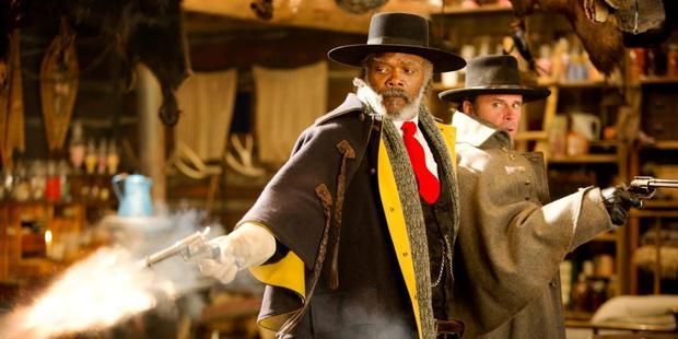 A scene from the movie The Hateful Eight.