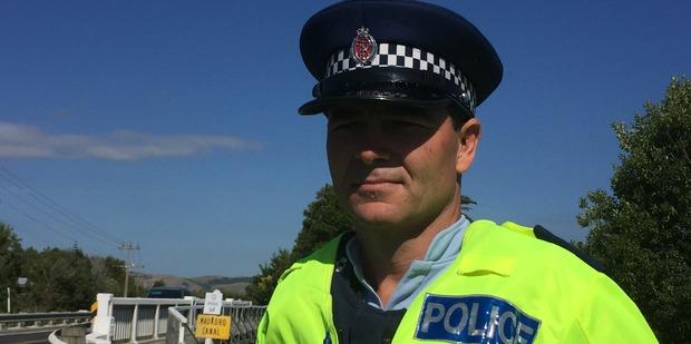 Waikato police Senior Sergeant Stephen Ambler. Photo / Belinda Feek