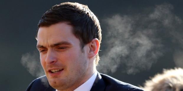 Footballer Adam Johnson at Bradford Crown Court. Photo / Getty Images