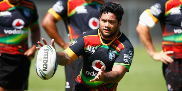 Issac Luke is a big recruit for the New Zealand Warriors. Photo / Getty
