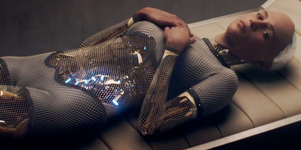 A scene from the movie Ex Machina.