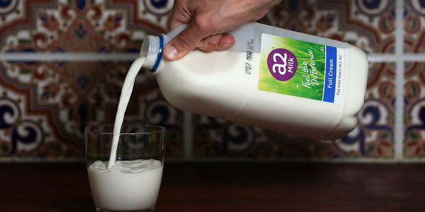 Australia's a2 Milk Co. is gaining an international following for its products. Photo / Bloomberg