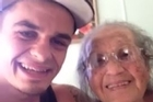 Jarryd Stoneman posted this touching video on Facebook. Now it's been shared over 3800 times.