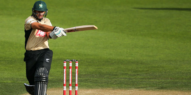 Ross Taylor playing for the North Island. Photo / Getty