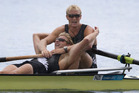 Men's Pair of Hamish Bond and Eric Murray will defend their title in Rio. Photo / Brett Phibbs