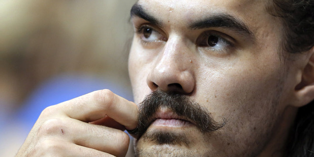 Steven Adams. Photo / AP
