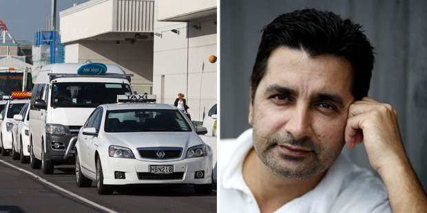 Ishfaq Ahmed said the woman begged him to drive her to Huntly. Photo / Brett Phibbs / Dean Purcell