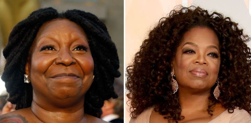 Whoopi was mistaken for Oprah by beauty bloggers