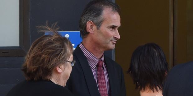 Thomas O'Neill at Dunedin District Court. Photo / Otago Daily Times