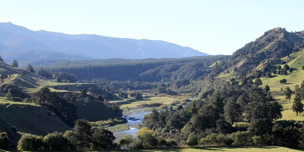 CONTENTIOUS: The site of the proposed Ruataniwha Dam.PHOTO/FILE